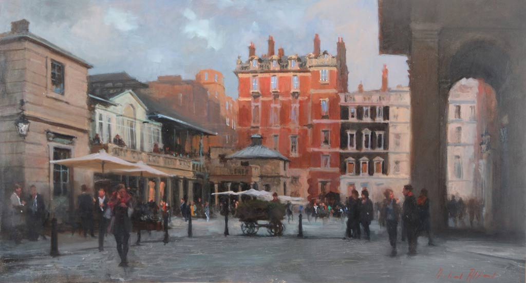 Oil on Canvas by Michael Alford at Norton Way Gallery, Hertfordshire