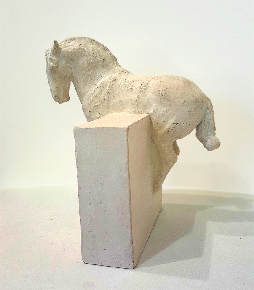 Fired Clay by Susan Leyland at Norton Way Gallery, Hertfordshire