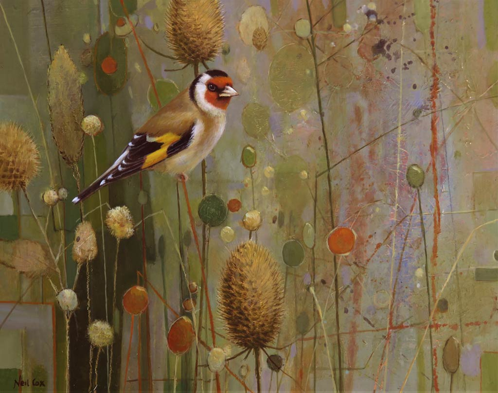 Oil on Panel by Neil Cox at Norton Way Gallery, Hertfordshire